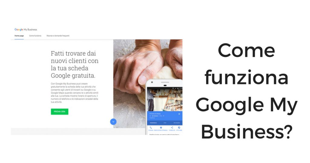 Come funziona Google My Business?